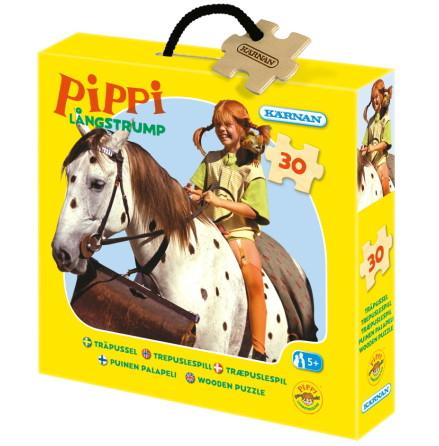 Askpussel Pippi Långstrump, 30 bitar