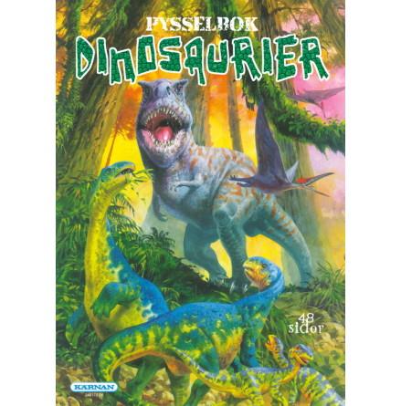 Pysselbok Dinosaurier