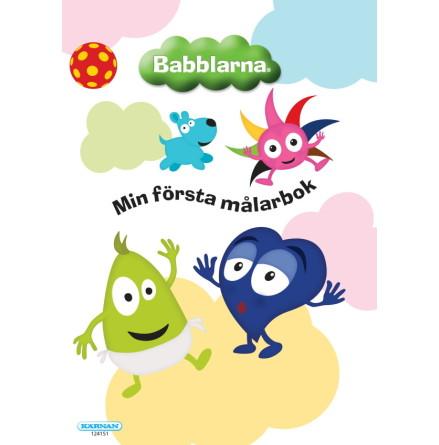 Babblarna - Min Först Målarbok