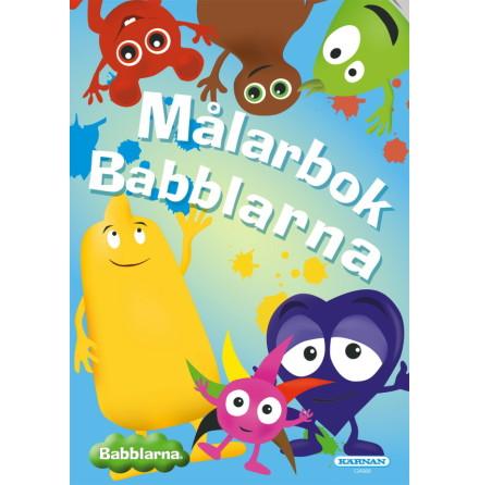 Målarbok Babblarna
