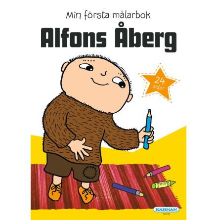 Alfons Åberg - Min Första Målarbok