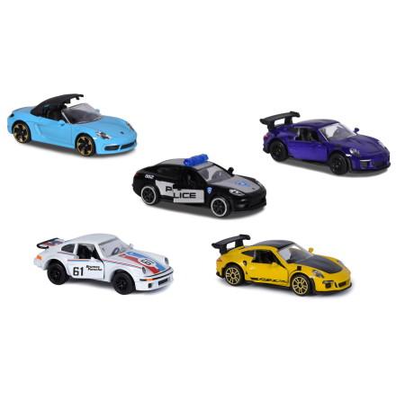 Majorette Porsche 5-pack Presentset