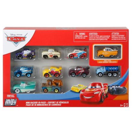 Cars Mini Racers 10-pack, GKG69