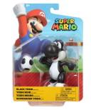 Svart Yoshi med Ägg, 10cm, Super Mario Figur