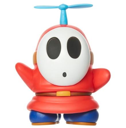 Röd Shy Guy med Propeller, 7cm, Super Mario Figur