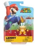Lemmy Koopa med Stav, 10cm, Super Mario Figur