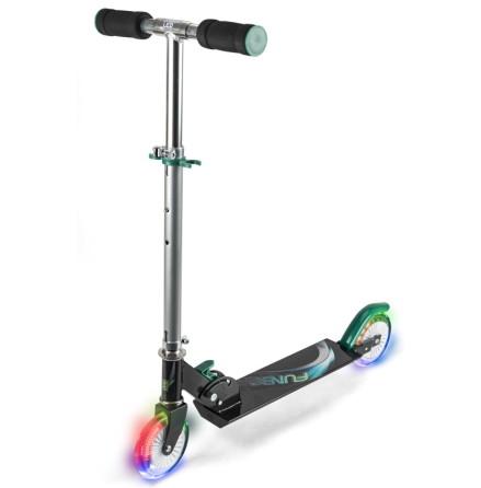 Funbee Sparkcykel med blinkande LED-hjul