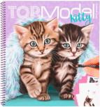 TOPModel Kitty Målarbok