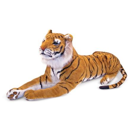 Melissa & Doug Stor Plysch Tiger