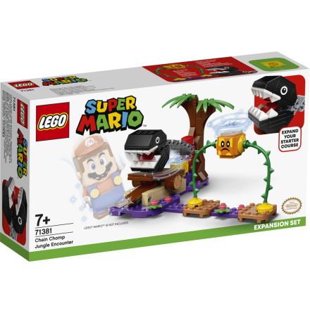 Lego Super Mario Chain Chomps djungelstrid - Expansionsset