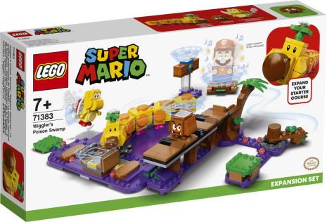 Lego Super Mario Wigglers giftiga träsk - Expansionsset