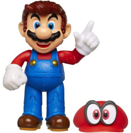 Super Mario med Cappy, 10cm, Super Mario Figur