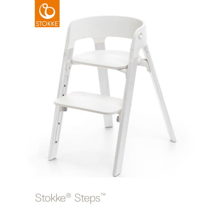 Stokke Steps Chair matstol, Oak White