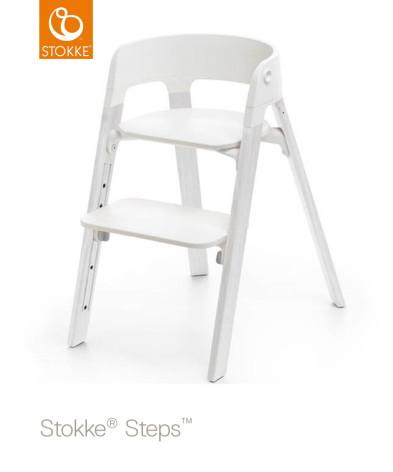 Stokke Steps Chair matstol, Oak White