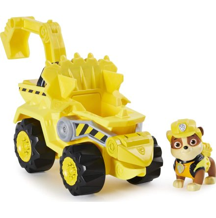 Paw Patrol Dino Rescue Deluxe Fordon, Rubble