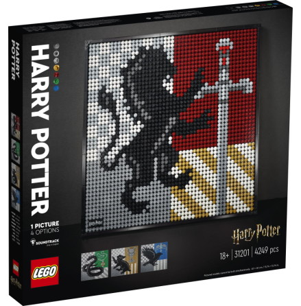 Lego Art Harry Potter Hogwartssköldar