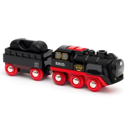 Brio Batteridrivet tåg med ånga