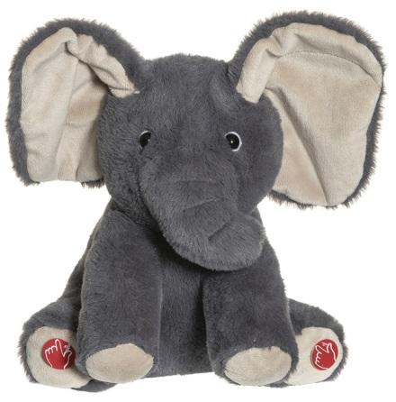 Teddykompaniet Titt-ut Elefant, 25cm