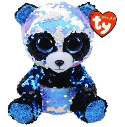 TY Flippables Bamboo Paljett Panda