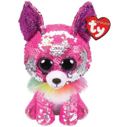 TY Flippables Charmed Rosa Paljett Chihuahua