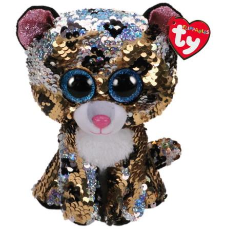 TY Flippables Sterling Flerfärgad Paljett Leopard