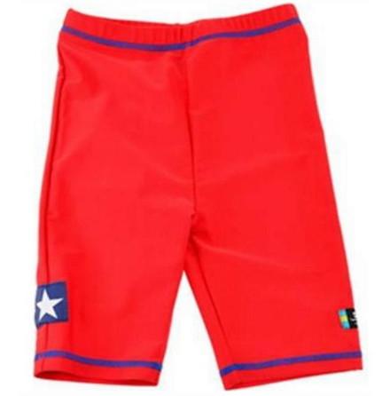 Swimpy UV-shorts, Sealife Röd