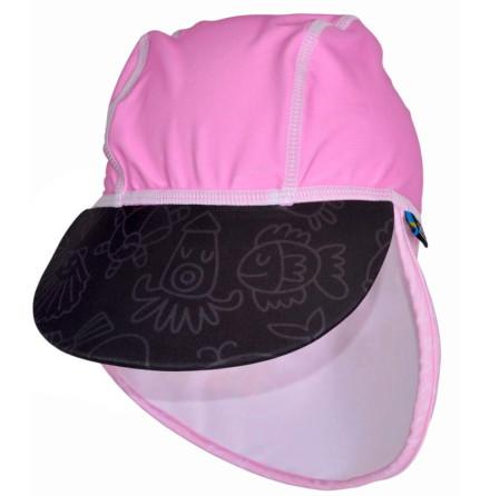 Swimpy UV-hatt Pink Ocean
