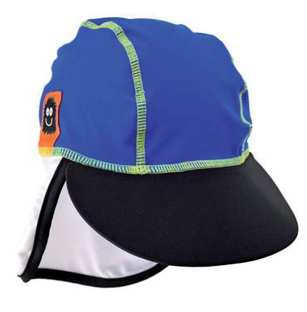 Swimpy UV-hatt Monster Blå