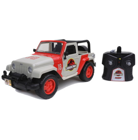 Jurassic Park Jeep Wranger RC