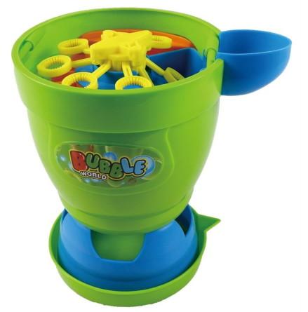 Spring Summer Såpbubbel popcornmaskin
