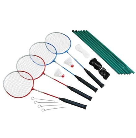 Spring Summer Badmintonset 4 spelare inkl nät