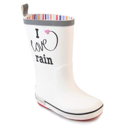 Vincent Gummistövlar, I Love Rain White