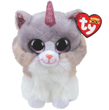 TY Beanie Boo's Asher Katt med Horn