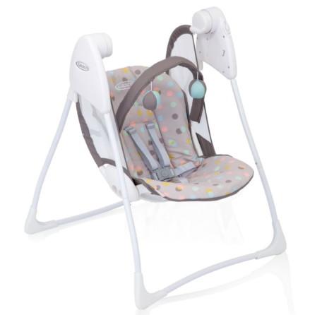 Graco Baby Delight Swing Confetti Grey