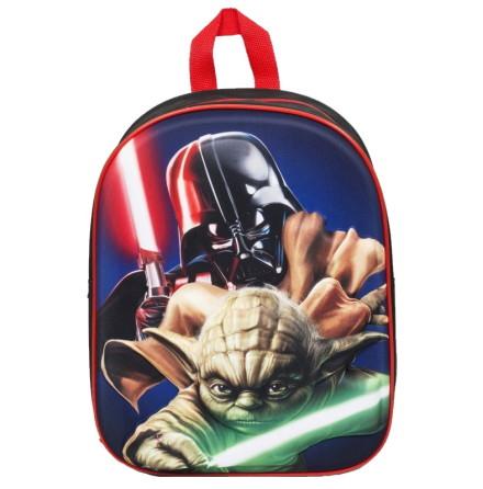 Star Wars Ryggsäck Darth Vader och Yoda 3D