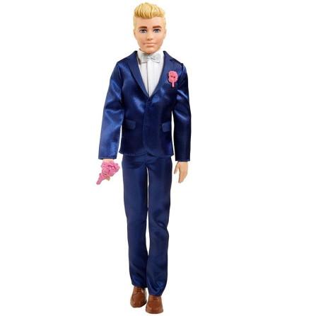Barbie Ken Brudgum Docka