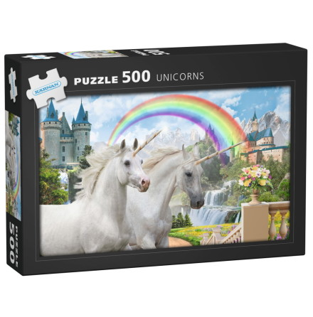 Pussel 500 bitar Unicorns, Kärnan