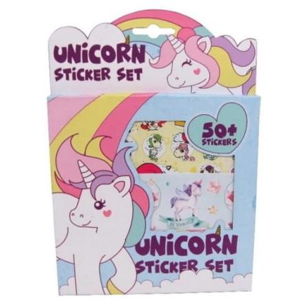 Unicorn set med 50+ klistermärken