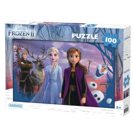 Pussel 100 bitar Disney Frost 2, Kärnan