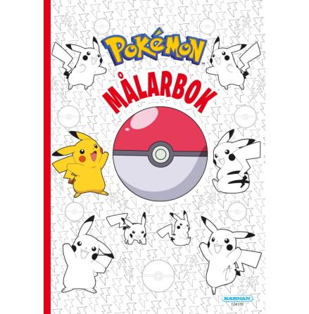 Målarbok Pokemon