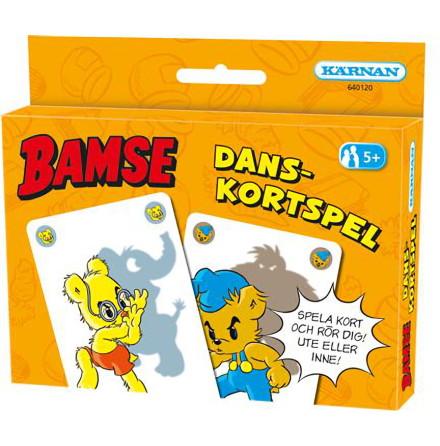 Kortspel Bamse Danskortspelet