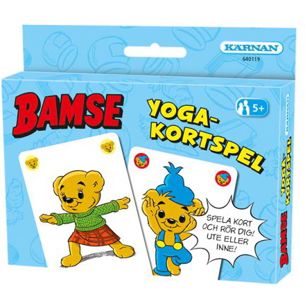 Kortspel Bamse Yogakortspelet