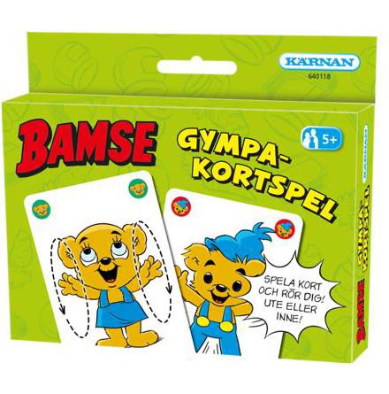 Kortspel Bamse Gympakortspelet