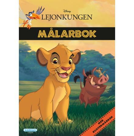 Målarbok Lejonkungen