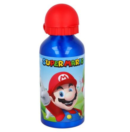 Super Mario Vattenflaska Aluminium, 400ml