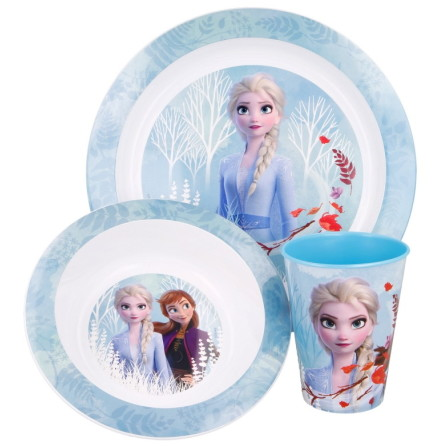 Frozen 2 Barnservis Set, 3-delar