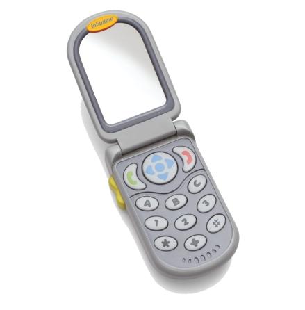 Flip & Peek Fun Phone, Grå