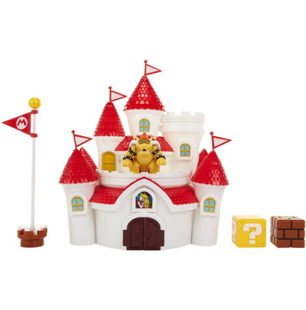 Super Mario Deluxe Mushroom Kingdom Castle Playset