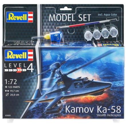 Revell Kamov Ka-58, Modell-kit