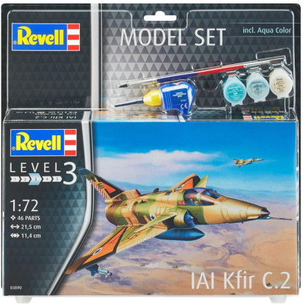 Revell AIA Kfir C.2, Modell-kit